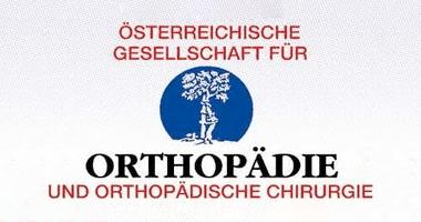 Logo Österreichische Gesellschaft für Orthopädie und Orthopädische Chirurgie mit Baum in der Mitte