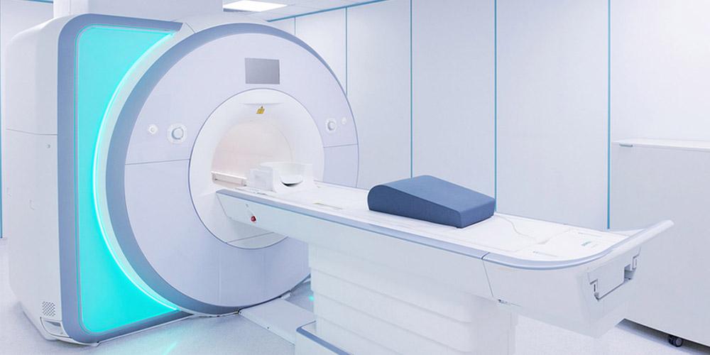 Diagnose bei einer aseptischen Knochennekrose in einem Magnetresonanztomografie (MRT)