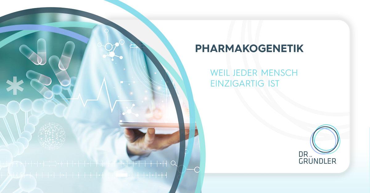 OpenGraph Bild über Pharmakogenetik - Weil jeder Mensch einzigartig ist